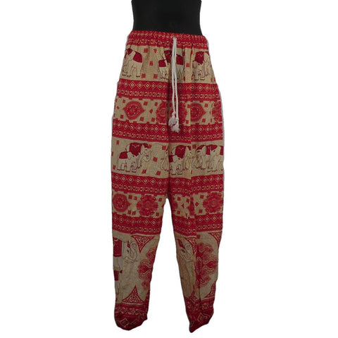 Red Trousers 8 - 10yrs - Matico