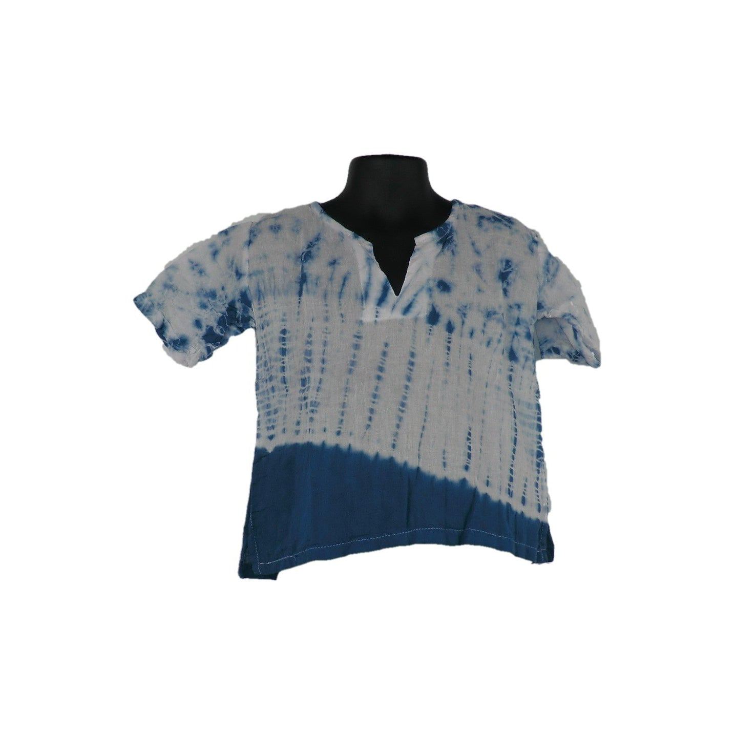 Blue Cotton Tops 2 - 3yrs - Matico