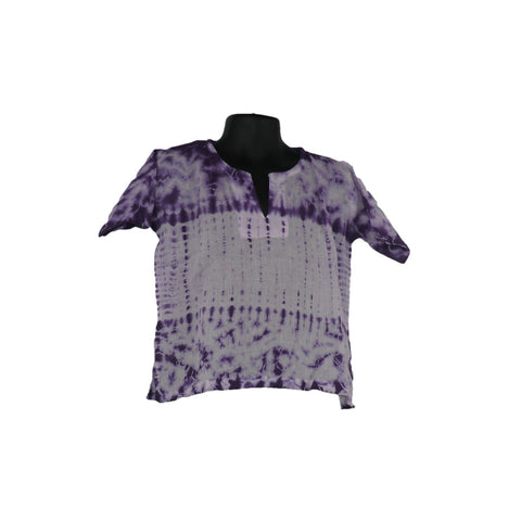 Purple Cotton Tops 2 - 3yrs - Matico