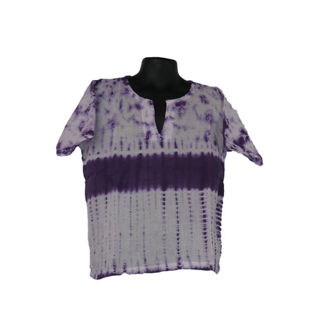 Purple Cotton Top 3 - 4yrs - Matico