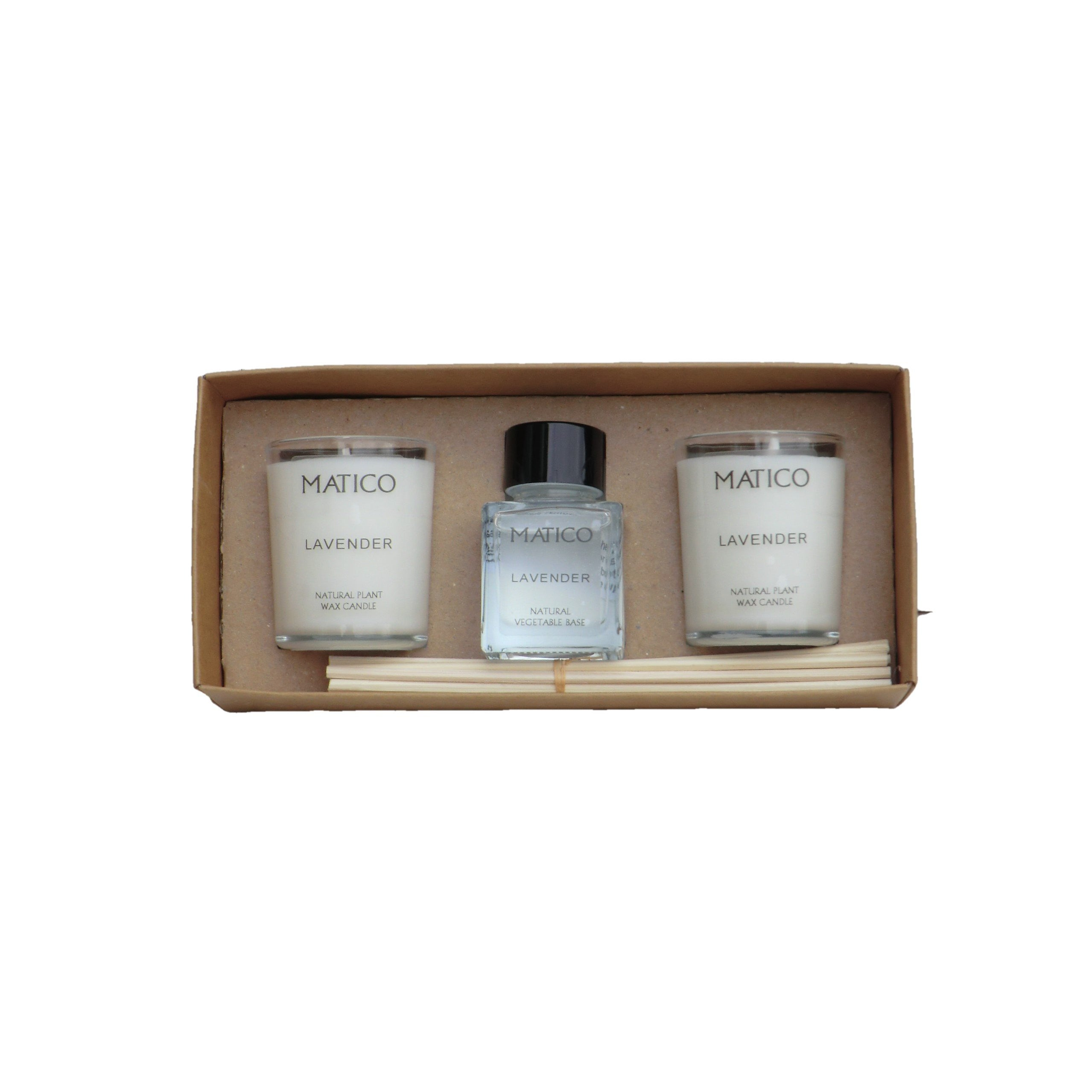 Candles and Reed Diffuser Gift Set - Matico