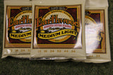 Ernie Ball 2003 Earthwood medium light acoustic guitar strings 12-54 (3 Packs)