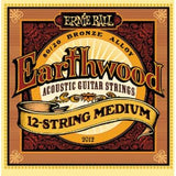 Ernie Ball 2012 Earthwood 12 string medium acoustic guitar strings