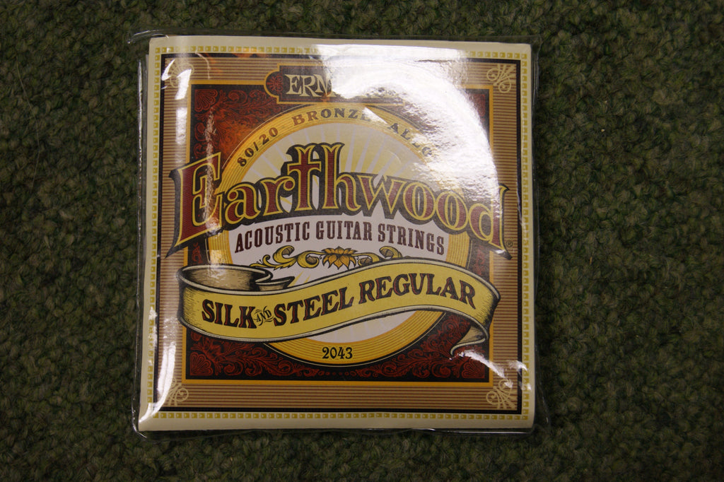 Ernie Ball 2043 Earthwood silk & steel soft guitar strings 11-52