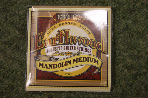 Ernie Ball Earthwood 2065 loop end mandolin strings 10-36