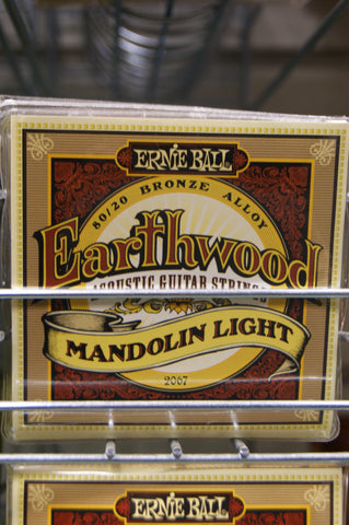 Ernie Ball Earthwood 2067 loop end mandolin strings 9-34