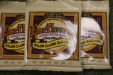 Ernie Ball 2069 Earthwood bronze and nylon classic ball end acoustic guitar strings (3 PACKS)