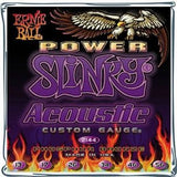 Ernie Ball 2144 Power Slinky acoustic guitar strings 13-56