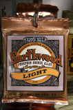 Ernie Ball 2148 Earthwood Phosphor Bronze acoustic guitar strings 11-52 (2 PACKS)