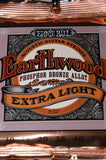 Ernie Ball 2150 Earthwood extra light acoustic guitar strings 10-50 (2 PACKS)