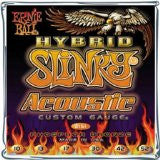 Ernie Ball 2151 Hybrid Slinky acoustic guitar strings 10-52 (2 PACKS)