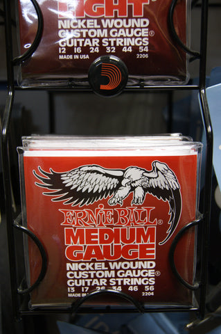 Ernie Ball 2204 custom 13-56 gauge nickel wound strings (2 PACKS)