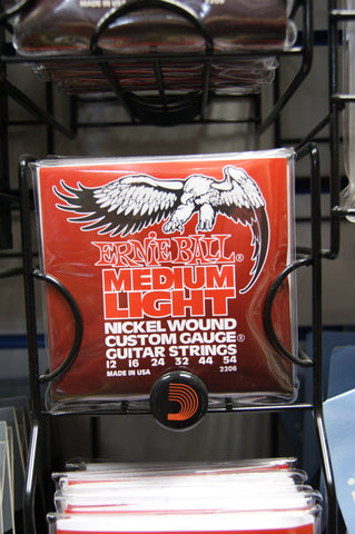Ernie Ball 2206 medium light 12-54 gauge nickel wound strings (2 PACKS)