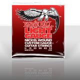 Ernie Ball 2208 light 11-52 custom gauge nickel wound strings