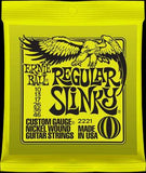 Ernie Ball 2221 Regular Slinky 10-46 electric guitar strings (2 PACKS)