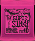 Ernie Ball 2223 Super Slinky 9-42 electric guitar strings (2 PACKS)