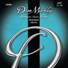 Dean Markley 2506 signature series jazz 12-54 electric guitar strings (3 PACKS)
