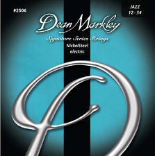 Dean Markley 2506 signature series Jazz 12-54 electric guitar strings