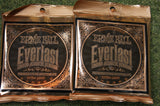 Ernie Ball 2550 Everlast extra light acoustic guitar strings 10-50 (2 PACKS)