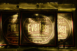 Ernie Ball 2560 Everlast coated acoustic strings extra light 10-50 (3 PACKS)