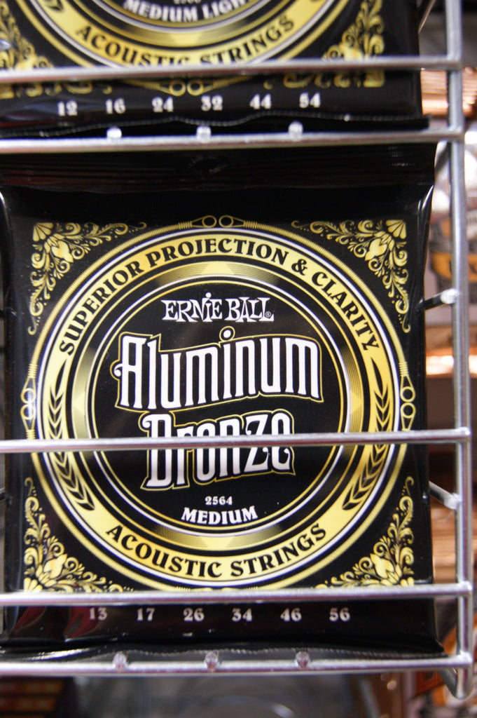 Ernie Ball 2564 medium 13-56 aluminium bronze acoustic guitar strings