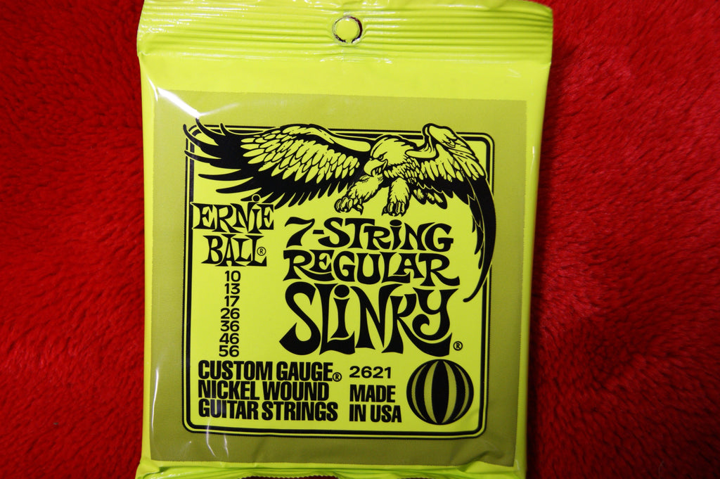 Ernie Ball 2621 regular slinky string set 10-56