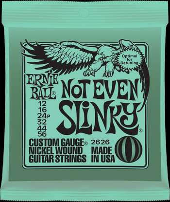 Ernie Ball 2626 Not Even Slinky 12-56 electric guitar strings (2 PACKS)