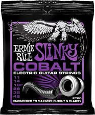 Ernie Ball 2720 Cobalt Power Slinky electric guitar strings 11-48 (3 PACKS)