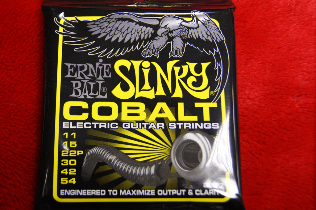 Ernie Ball 2727 beefy slinky cobalt 11-54 electric guitar string