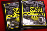 Ernie Ball 2727 beefy slinky cobalt electric guitar strings 11-54 (2 PACKS)