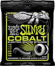 Ernie Ball 2721 Cobalt Regular Slinky electric guitar strings 10-46 (3 PACKS)
