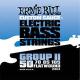 Ernie Ball 2804 flatwound electric bass guitar strings 50-105
