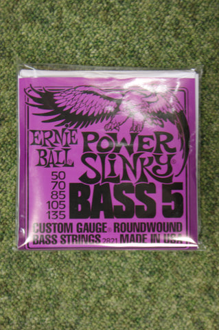 Ernie Ball 2821 power slinky bass 5 guitar strings 50-135