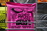 Ernie Ball 2824 super slinky bass 5 guitar strings 40-125