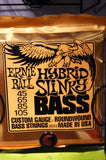 Ernie Ball 2833 hybrid Slinky bass guitar strings 45-105 (2 PACKS)