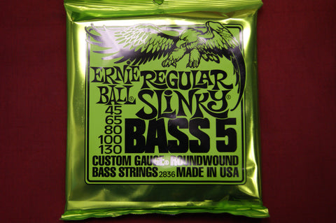 Ernie Ball 2836 Regular Slinky 5 string bass 45-105 strings