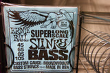 Ernie Ball 2849 super long scale slinky bass guitar strings 45-105