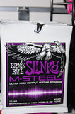 Ernie Ball 2920 M Steel 11.48 power slinky electric guitar strings (2 PACKS)
