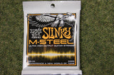 Ernie Ball 2922 M Steel 19-46 hybrid slinky electric guitar strings (2 PACKS)