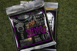 Ernie Ball 3120 Power Slinky 11-48 coated electric guitar strings titanium reinforced (2 PACKS)