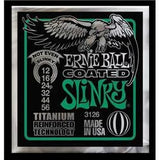 Ernie Ball 3126 Not Even Slinky 12-56 coated electric guitar strings titanium reinforced (3 PACKS)