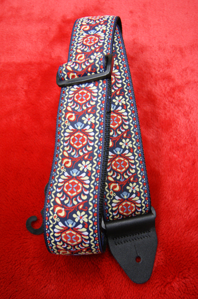 Ernie Ball Royal Bloom Jacquard Guitar Strap