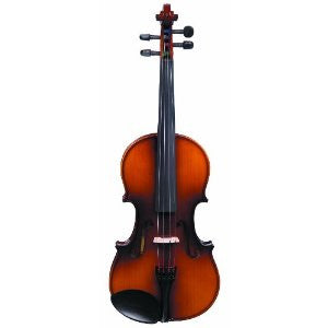 Antoni ACV33 debut 1/4 size violin in - sold as an outfit with case bow & rosin