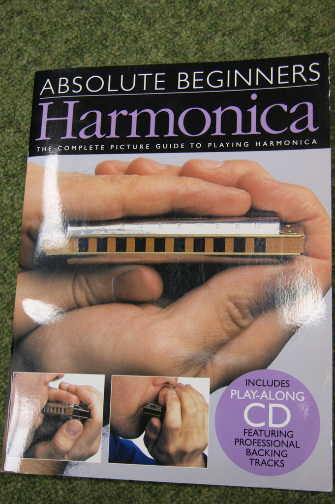 Harmonica book - Absolute Beginners Harmonica - book and CD