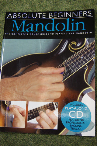Mandolin book - Absolute Beginners Mandolin (book & CD)