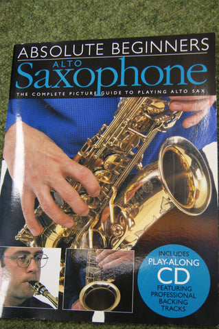 Saxophone book - Absolute Beginners Saxophone (book and CD)