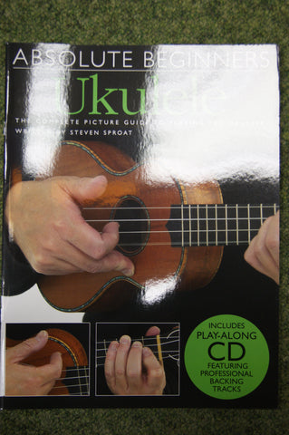Ukulele Book - Absolute Beginners Ukulele (book & cd)