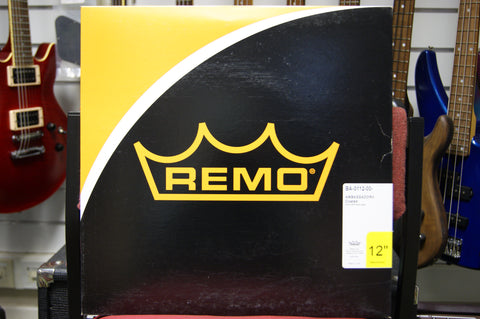 "Remo 12"" Ambassador coated drum skin"