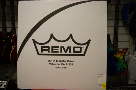 "Remo Ambassador 22"" clear bass drum skin"