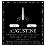 Augustine classical guitar strings low tension black pack